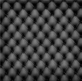 Black leather background. Vector. Illustration Royalty Free Stock Image