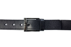 Black leather belt Royalty Free Stock Photo