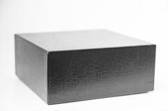 Black leather box Royalty Free Stock Photo