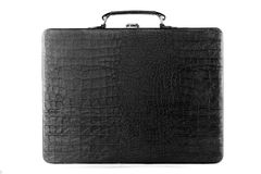 Black Leather Carrying Case Royalty Free Stock Photo
