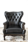 Black leather Chair Royalty Free Stock Photography
