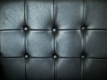 Black leather decoration Royalty Free Stock Images