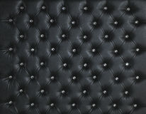 BLACK LEATHER DIAMOND STUDDED LUXURY BACKGROUND Royalty Free Stock Photos