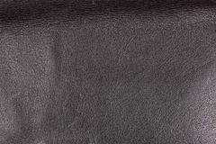 Black leather frame design macro texture Stock Image