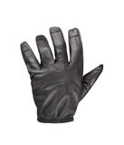 Black leather glove Royalty Free Stock Photography