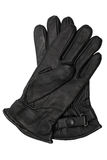 Black leather gloves Royalty Free Stock Photo