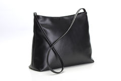 Black Leather Handbag Royalty Free Stock Images