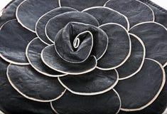 Black leather handbag Royalty Free Stock Photos