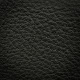 Black leather macro shot Royalty Free Stock Image