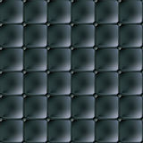 Black leather material Stock Photos