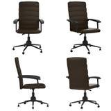 Black leather office chair. 3d rendering black leather office chair isolated on white Stock Photography