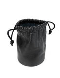 Black leather pouch Royalty Free Stock Photo