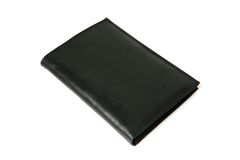 Black Leather Purse Stock Image