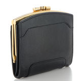 Black Leather Purse Royalty Free Stock Images