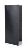 Black Leather Purse Stock Photo