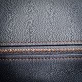 Black leather sample Royalty Free Stock Photos