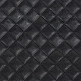 Black leather seamless background Royalty Free Stock Photo
