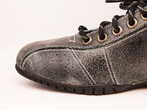 Free Black Leather Shoe Stock Image - 18063081