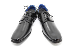 Black Leather Shoes Royalty Free Stock Photo