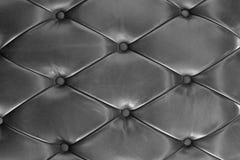 Black leather Sofa Texture. Background of black leather Sofa Texture Stock Photos