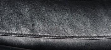 Black leather texture background Royalty Free Stock Photo