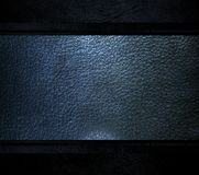 Black leather template light background Stock Image