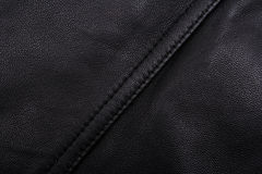 Black leather texture Royalty Free Stock Photography
