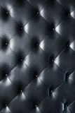 Black leather texture Stock Image