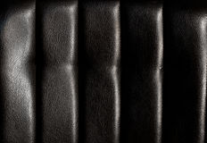 Black leather for texture Royalty Free Stock Image