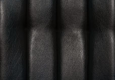 Black leather for texture Stock Image