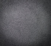 Black leather texture. Stock Photos