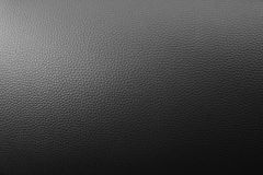 Black leather texture. For background Royalty Free Stock Photography