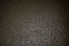 Black leather texture and background Stock Images