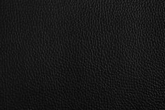 Black leather texture or background. Black leather closeup texture or background Stock Photo
