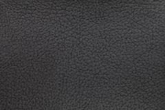 Black leather texture background. Closeup photo. Reptile skin. Royalty Free Stock Image