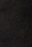Black leather texture background Royalty Free Stock Photos