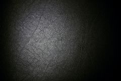 Black leather for texture background from Office Chair.  Royalty Free Stock Image