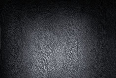 Black leather. Texture stock photography