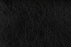 Black leather texture background Stock Image