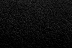 Black leather texture background surface. Dark Black leather texture background surface royalty free stock image