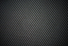 Black leather for texture from car seats. Stock Image
