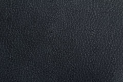 Black leather texture. Close up of a black leather texture royalty free stock image