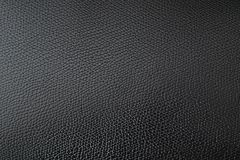 Black leather texture, close up, background royalty free stock photo