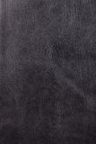 Black leather texture Stock Photo