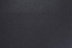 Black Leather texture closeup. Stock Image