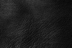 Black leather texture stock photos