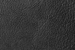 Black leather texture. Royalty Free Stock Images