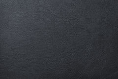 Black leather texture. Pattern background stock photography