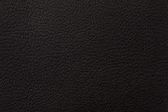 Black leather texture print as background Royalty Free Stock Photos
