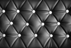 Black leather texture Royalty Free Stock Photos